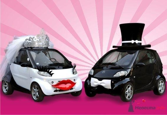 Жених и невеста - фото 40833 Smartnaprokat - свадебный кортеж