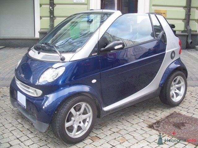 синий кабриолет - фото 40841 Smartnaprokat - свадебный кортеж