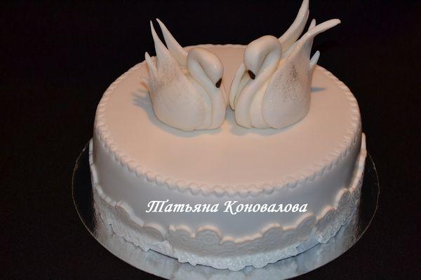 """Фото 1168319 в коллекции Мои свадебные торты - Студия торта """"Сахарная пудра"""""""