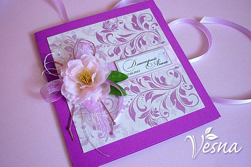Фото 523021 в коллекции Приглашения - Vesna-Art - аксессуары для свадьбы