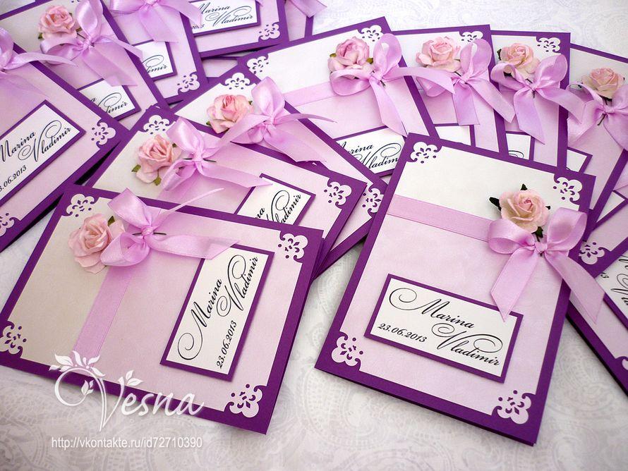 Фото 2459357 в коллекции Приглашения - Vesna-Art - аксессуары для свадьбы