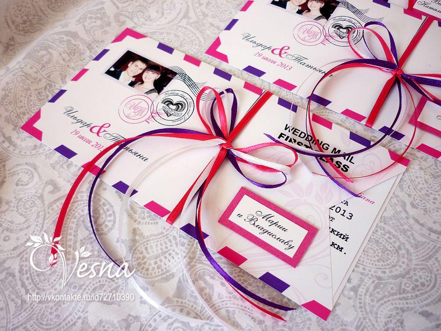 Фото 2459377 в коллекции Приглашения - Vesna-Art - аксессуары для свадьбы
