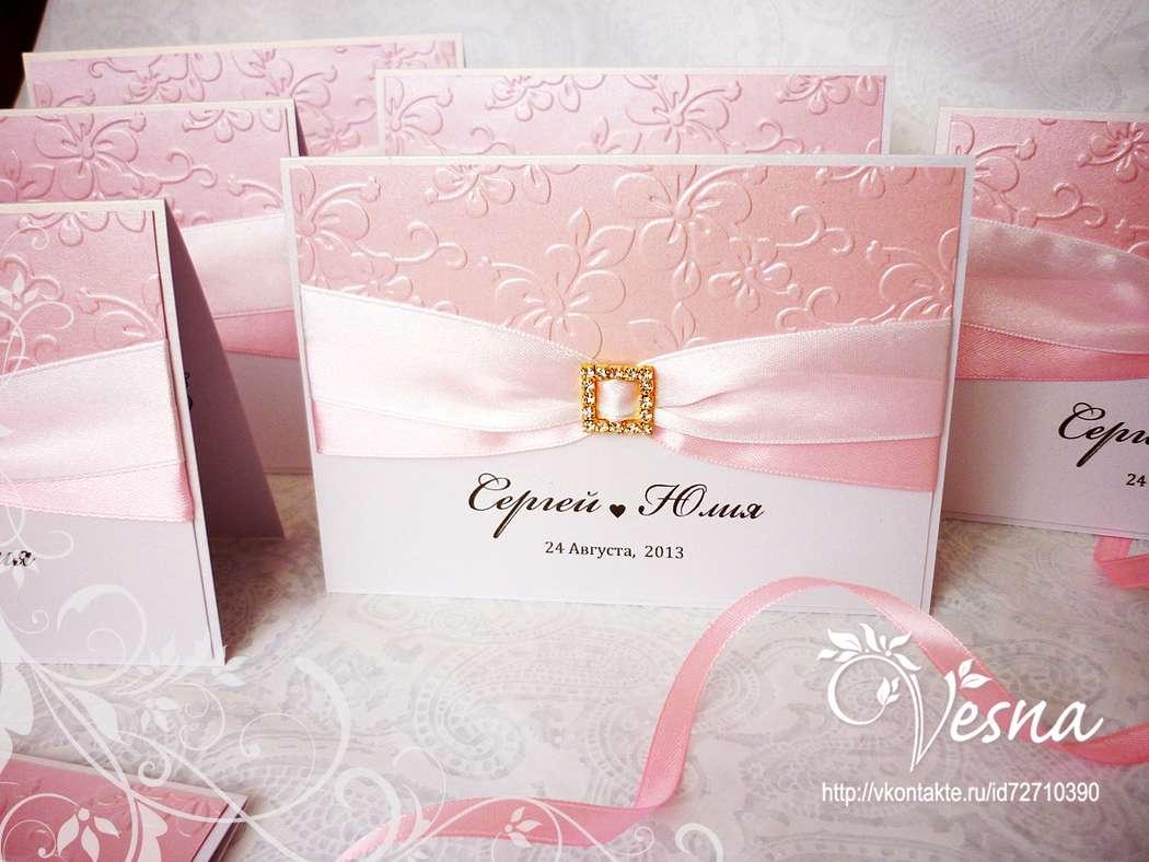 Фото 2459387 в коллекции Приглашения - Vesna-Art - аксессуары для свадьбы