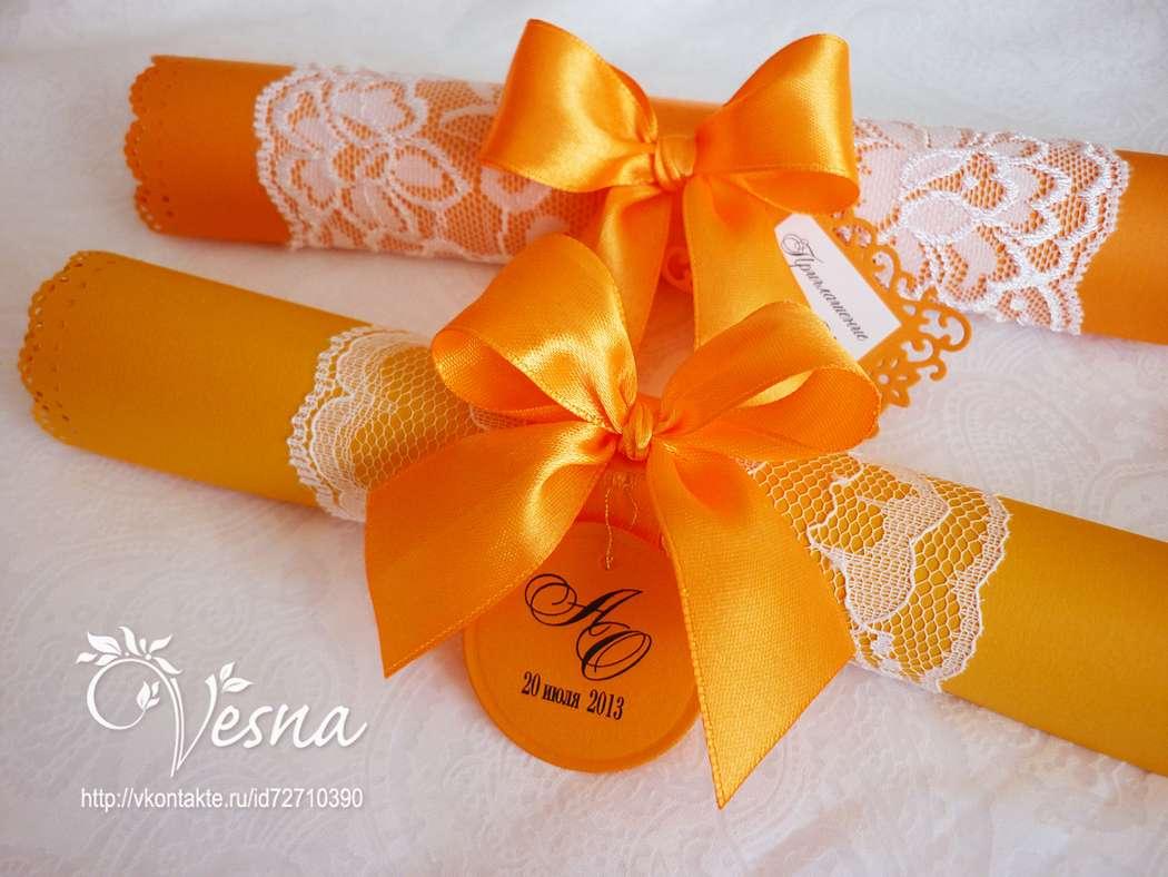 Фото 2459389 в коллекции Приглашения - Vesna-Art - аксессуары для свадьбы