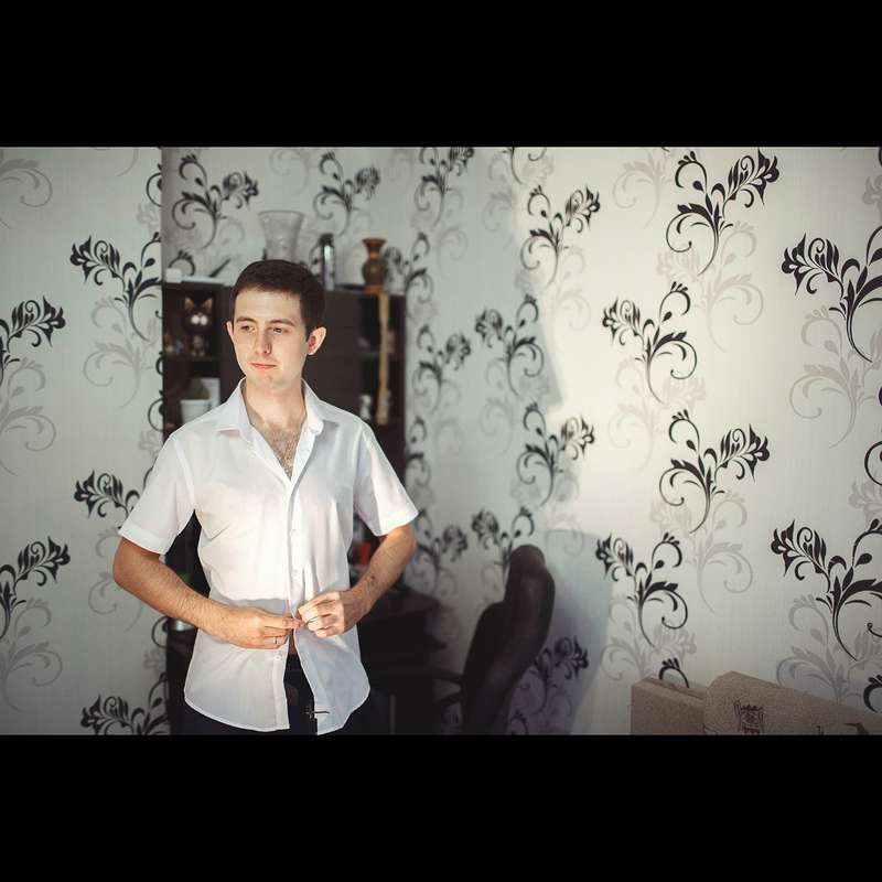 Белая рубашка с коротким рукавом  - фото 2679341 Фотограф Дмитрий Панкратов