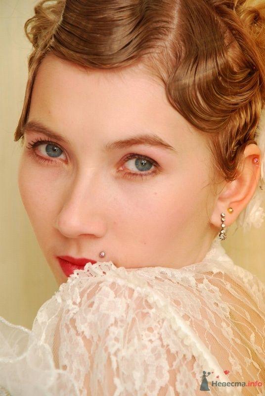 причёска в стиле 30-х годов - фото 67059 Свадебный стилист Татьяна Мартынова
