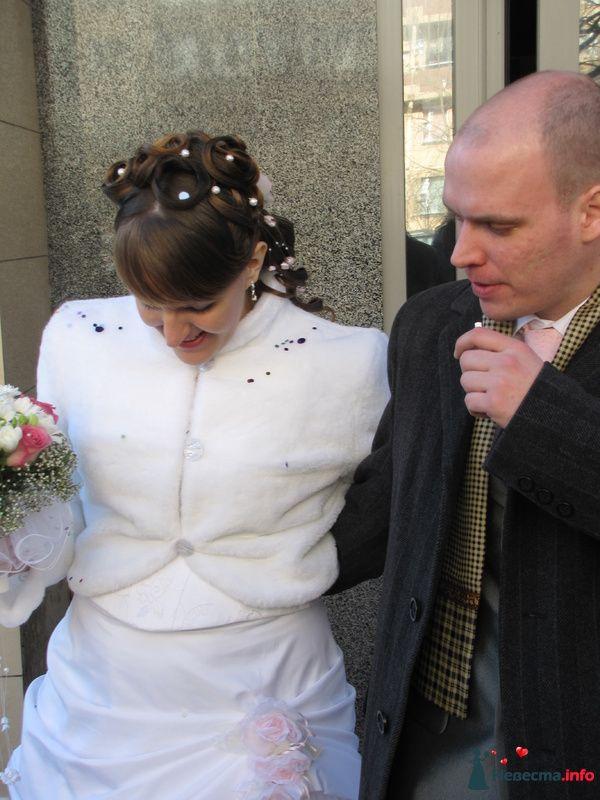 свадебная причёска  из длинных волос - фото 85462 Свадебный стилист Татьяна Мартынова