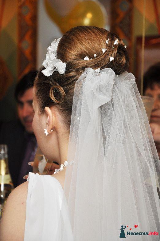 свадебная причёска из волос средней длинны - фото 85466 Свадебный стилист Татьяна Мартынова