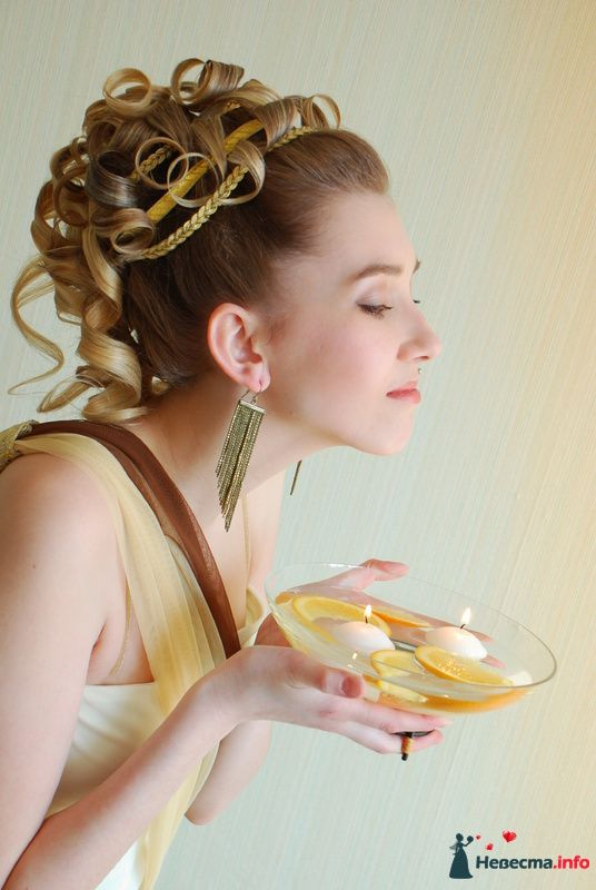 причёска в греческом стиле - фото 85473 Свадебный стилист Татьяна Мартынова