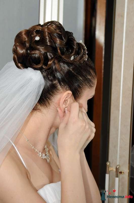 свадебная причёска на коротких волосах - фото 104636 Свадебный стилист Татьяна Мартынова