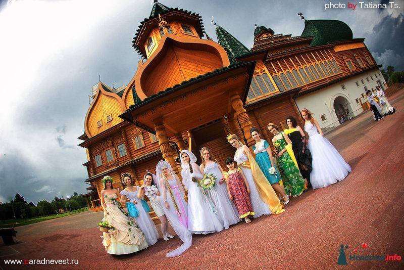 парад невест в москве русские сказки Анна - фото 123393 Свадебный стилист Татьяна Мартынова