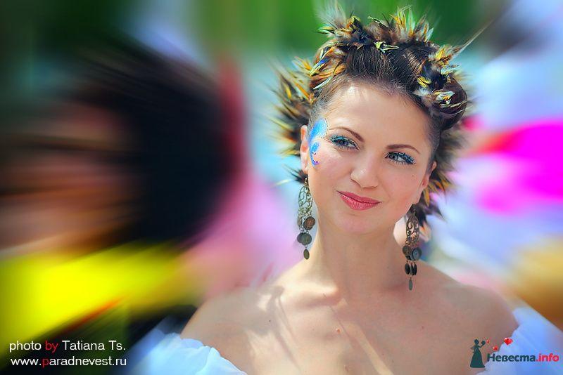 парад невест в москве русские сказки Анна
