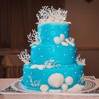 Торт к Морской свадьбе