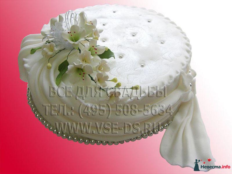 """Фото 81868 в коллекции Свадебные торты - """"Все для свадьбы"""" - салон аксессуаров и услуг"""
