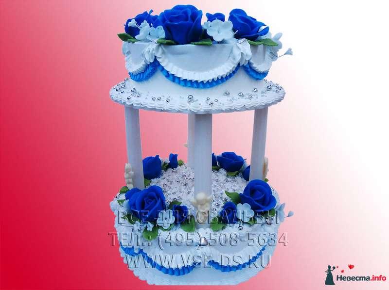 """Фото 81870 в коллекции Свадебные торты - """"Все для свадьбы"""" - салон аксессуаров и услуг"""