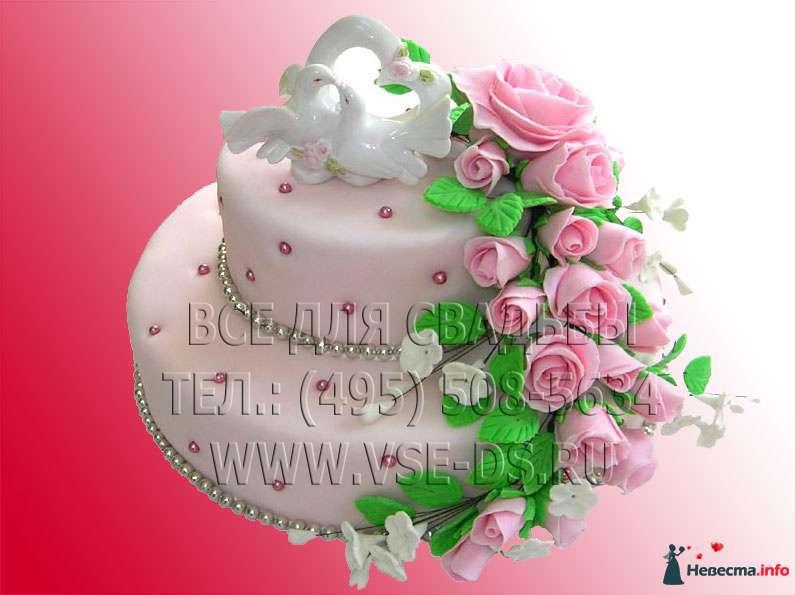 """Фото 99303 в коллекции Свадебные торты - """"Все для свадьбы"""" - салон аксессуаров и услуг"""