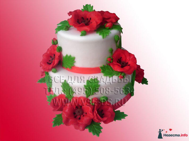 Фото 99311 в коллекции Свадебные торты