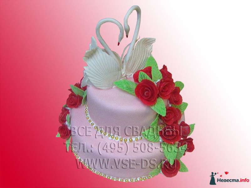 """Фото 99314 в коллекции Свадебные торты - """"Все для свадьбы"""" - салон аксессуаров и услуг"""