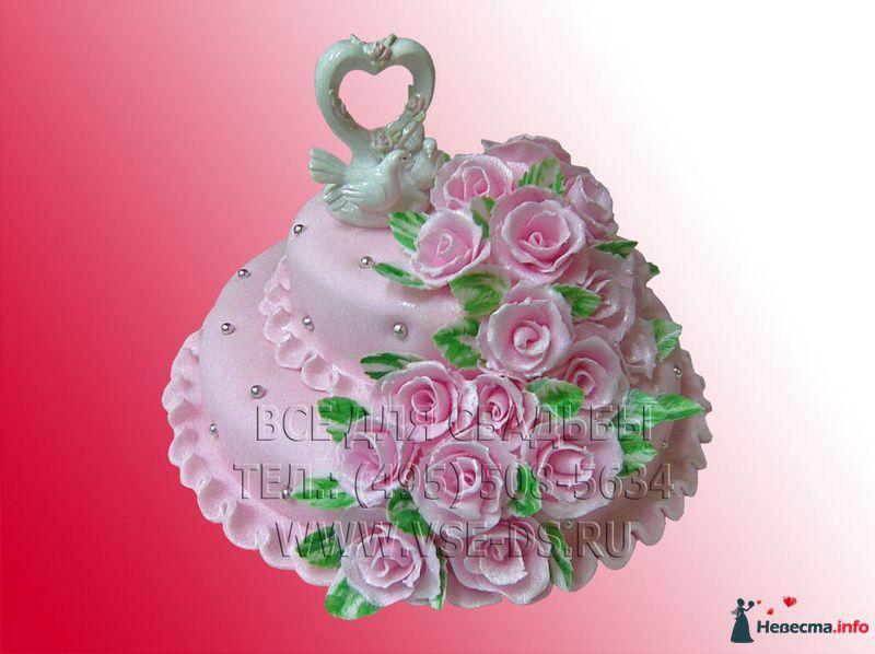 Фото 99318 в коллекции Свадебные торты