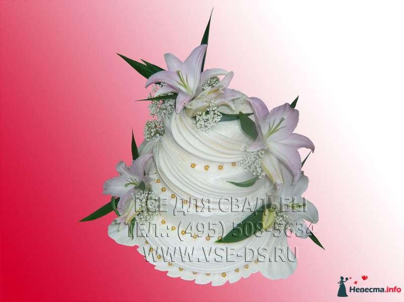 """Фото 99320 в коллекции Свадебные торты - """"Все для свадьбы"""" - салон аксессуаров и услуг"""