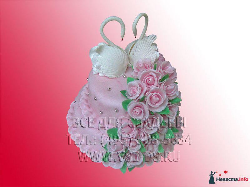 Фото 99324 в коллекции Свадебные торты