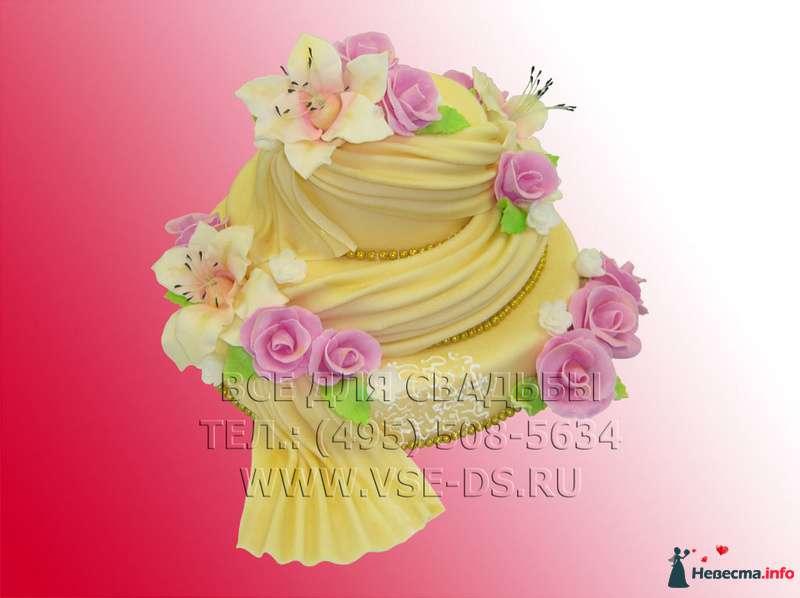 """Фото 99333 в коллекции Свадебные торты - """"Все для свадьбы"""" - салон аксессуаров и услуг"""