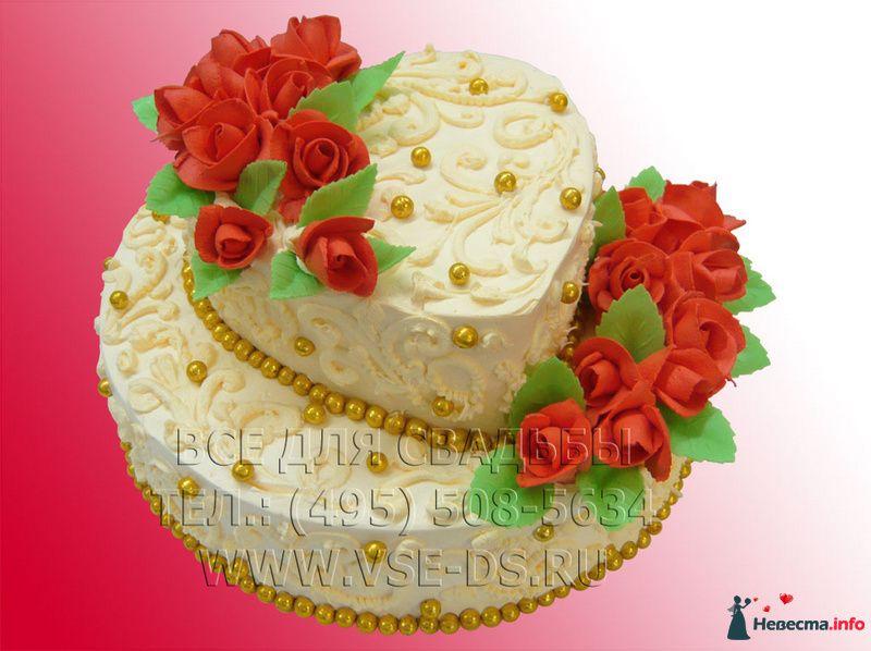 """Фото 99334 в коллекции Свадебные торты - """"Все для свадьбы"""" - салон аксессуаров и услуг"""