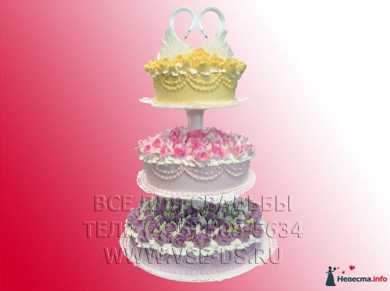 """Фото 99340 в коллекции Свадебные торты - """"Все для свадьбы"""" - салон аксессуаров и услуг"""