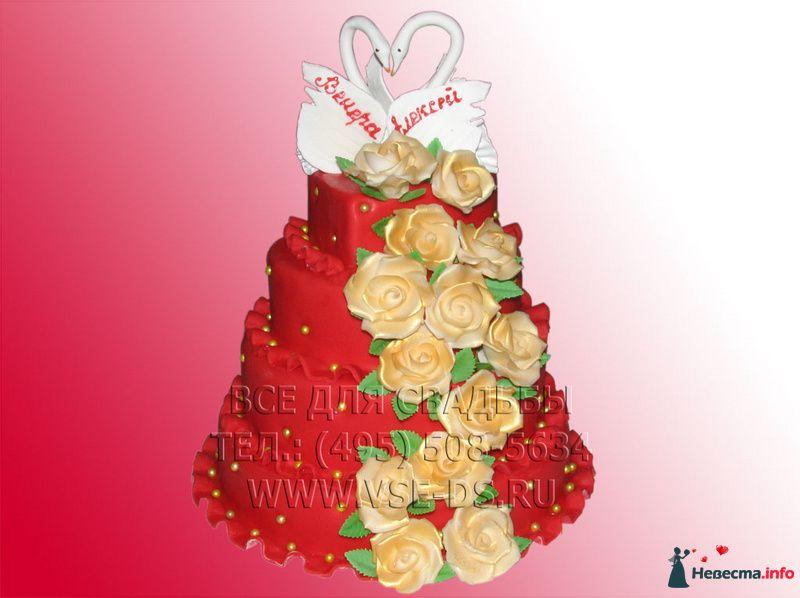 """Фото 99367 в коллекции Свадебные торты - """"Все для свадьбы"""" - салон аксессуаров и услуг"""