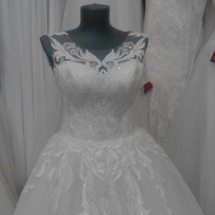 """Свадебное платье """"А-силуэт"""""""