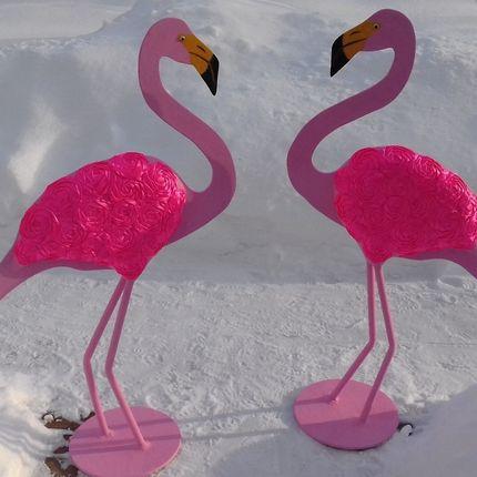 Розовый фламинго в аренду