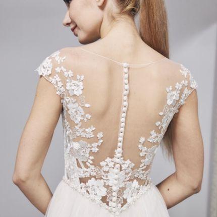 Свадебное платье со шлейфом, арт. W8