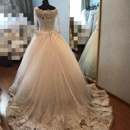 Пышное свадебное платье, арт. Флёр