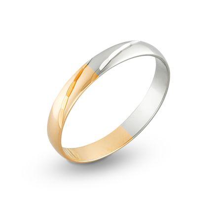 Обручальное кольцо с алмазными гранями