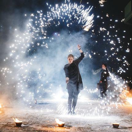 Огненное и огненно-пиротехническое шоу (фаер-шоу, fire show)