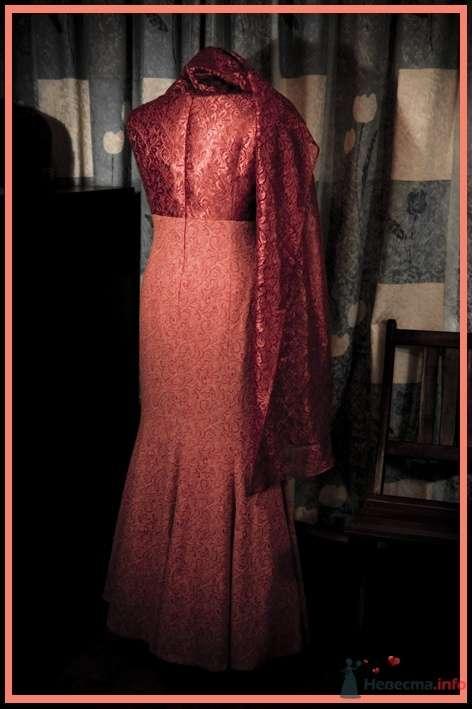 2. То же платье, вид сзади - фото 45006 Белошвейка