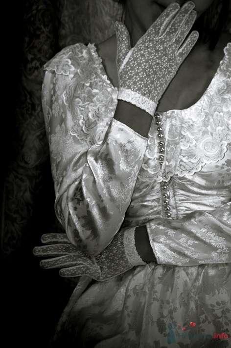 Свадебное платье, уже почти винтаж-) Сшито в 1992 году. - фото 45011 Белошвейка