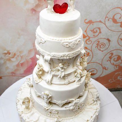 Торт свадебные Ангелы, 20 к