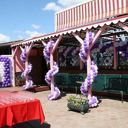 Гирлянды и арки из воздушных шаров, цена за 1 метр