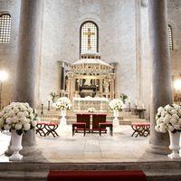 Католическая свадьба в базилике Святого Николая.