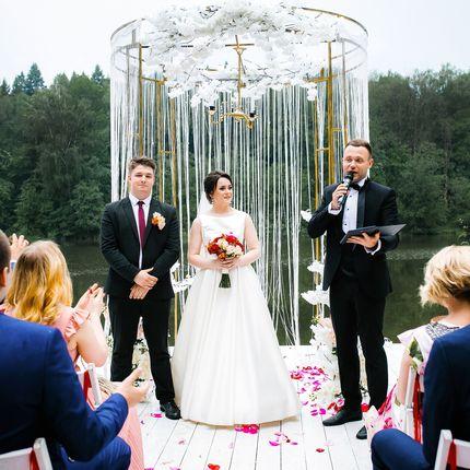 Проведение свадьбы + DJ + звук и свет на 6 часов