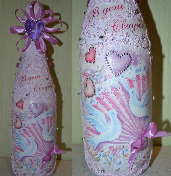 Опишите фотографию здесь - фото 1239785 Декорирование бутылок