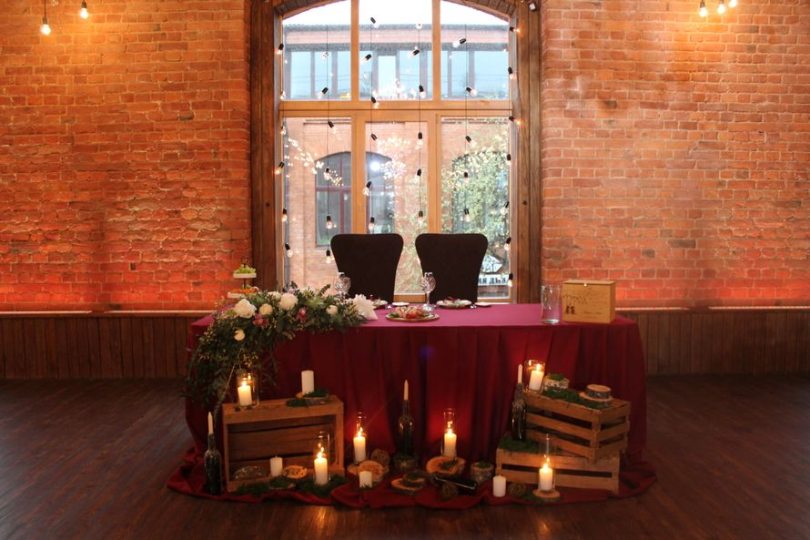 Фото 16582516 в коллекции Ресторан ВЕСЕННИЙ ЛОФТ - Wed Magic - студия декора и флористики