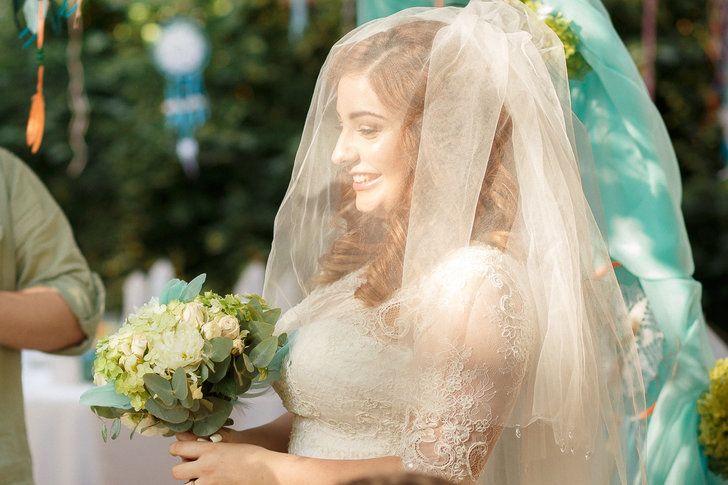 Невеста Саша в день торжества - фото 16695236 Визажист Муратова Юлия