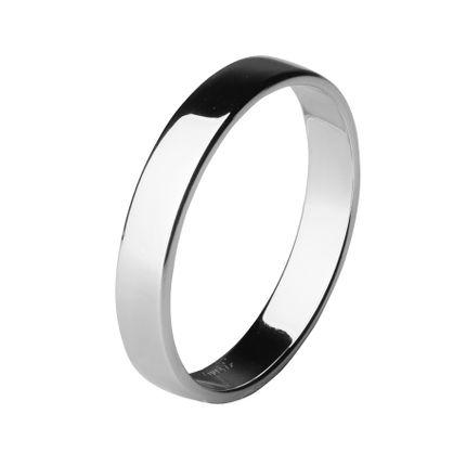 Обручальное кольцо из палладия шириной 3,5 мм