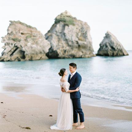 Организация церемонии на пляже (Португалия)