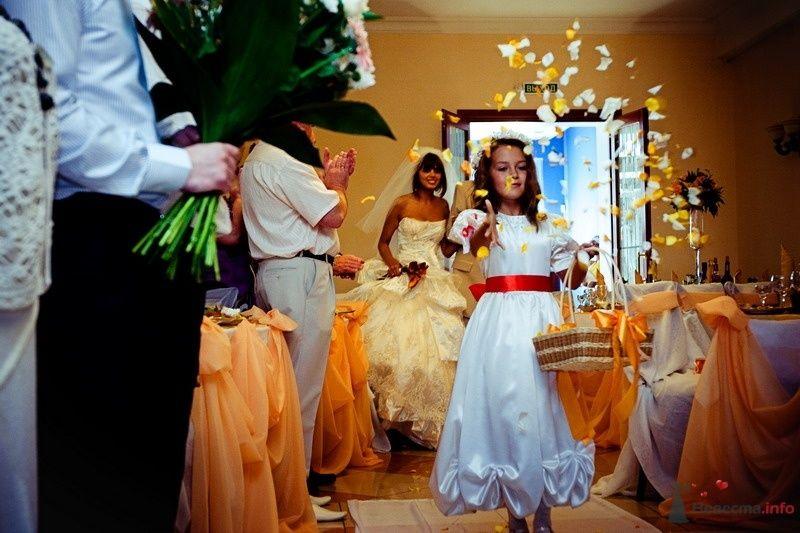 Фото 62478 в коллекции Моя оранжевая свадьба