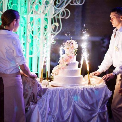 Фонтаны в торт (настольные фонтаны)