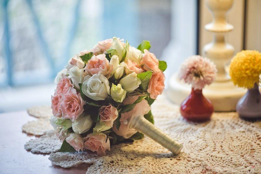 Доставка цветов, свадебный букет на своей ножке мастер класс