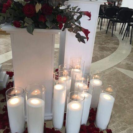 Насыпные свечи - аренда